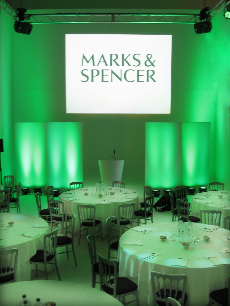 Main Hall, M&S Conference Dinner