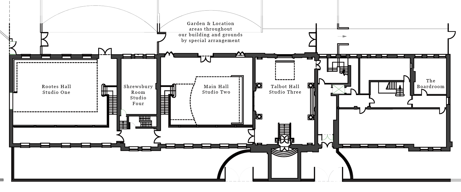 Sunbeam Studios Floor Plan