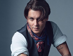 Johnny Depp for Details Magazine