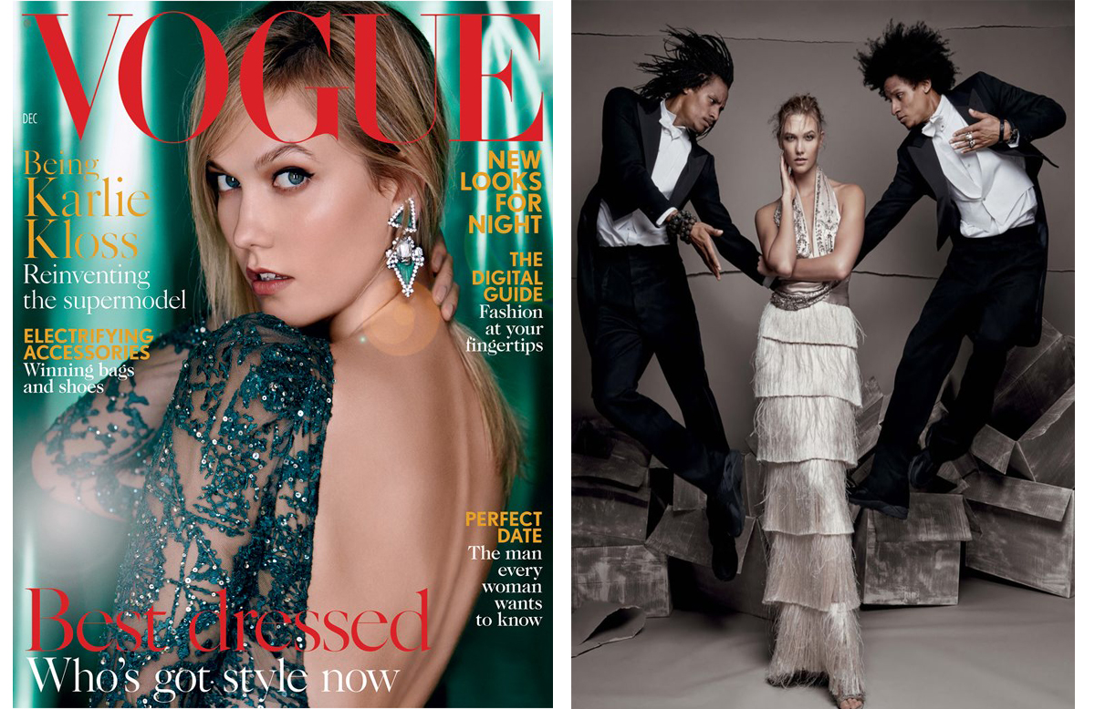 1a6db7b9450a ... British Vogue s December cover. The shoot also featured French dance  stars Les Twins. KK blog